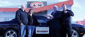 A&W Dodge Challenger 2012 Winner